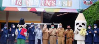 Kunjungan dari Kementerian Pendidikan, Kebudayaan, Riset & Teknologi ke SD Garut Islamic School Prima Insani